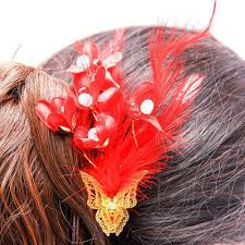 hair flower hair flower clip at rs 150 hair flower clip new