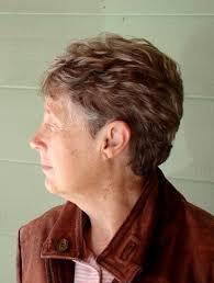 lowlights for gray hair photos woman s short cut gray hair with lowlights brent g hair studio