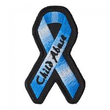 royal blue ribbon child abuse royal blue ribbon patch awareness patches