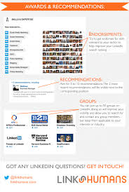 6 steps to building a killer linkedin profile infographic