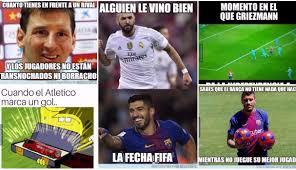 Meme Deportes - barcelona vs atl礬tico de madrid los divertidos memes del partido