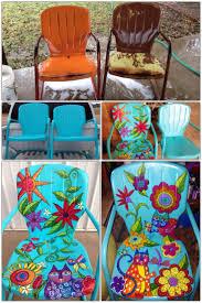 Metal Patio Furniture Paint - le 25 migliori idee su verniciare sedie in metallo su pinterest
