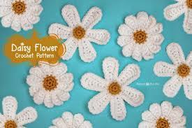 Crochet Designs Flowers Daisy Flower Crochet Pattern Repeat Crafter Me