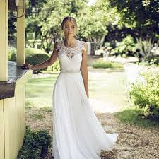 Boho Wedding Dresses Lace Wedding Dress Lace Boho Wedding From Bailynnbounique On Etsy
