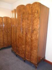 Antique Walnut Bedroom Furniture Burr Walnut Antique Bedroom Suites Antiques Atlas
