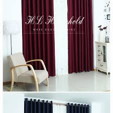 top finel solid polyester ready made window shade blackout top finel solid polyester ready made window shade blackout curtains for living room the bedroom cortina