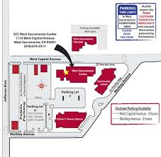 scc map directions parking transportation sacramento center