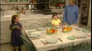 video how to set a table martha stewart
