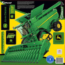 deere combine teammate fathead peel u0026 stick wall decal