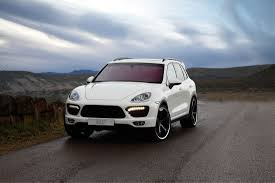 White Porsche Cayenne - techart individualization options for the porsche cayenne cartype