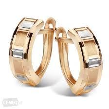 obraczki yes yes złote kolczyki zha5937 biżuteria obrączki pierścionki