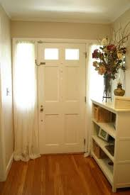 Curtain Ideas For Front Doors by Small Front Door Sidelights Let U0027s See What Trendy Curtains For