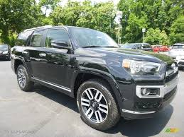 toyota 4runner 2017 black 2017 midnight black metallic toyota 4runner limited 4x4 120990262