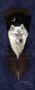 white wolf spirit by ssantara on deviantart