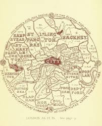London On World Map by London On Amazing Old And New Maps Earthly Mission