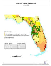 Map Of Northwest Florida by Florida U0027s Top 10 Sinkhole Prone Counties