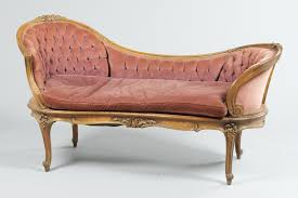 Fainting Bench A Vintage French Style Fainting Couch 11 18 10 Sold 931 5