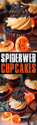 chocolate spiderweb halloween cupcake toppers the soccer mom blog