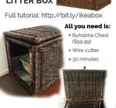 Decorative Cat Box Litter Box Furniture Diy Gallery Of Diy Ways To Hide That Litter