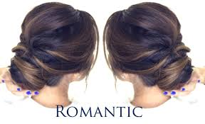 Easy Updo Hairstyles Step By Step by 5 Minute Romantic Bun Hairstyle Easy Updo Hairstyles Youtube