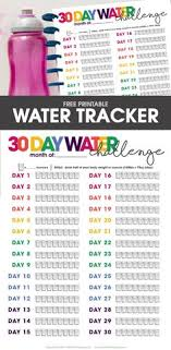 Water Challenge Explained 30 Day Water Challenge 64ozchallenge Free Printable Scrap