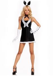 black tie bunny costume