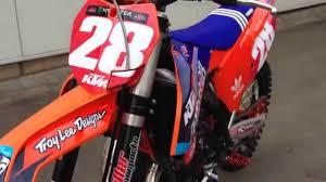 n style mx motocross dekor lucas oil motorsports ktm diller