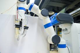 another good step a robotic gripper that can pick up and
