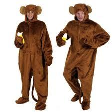 Halloween Monkey Costume Monkey Costume Chimp Ladies Mens Book Fancy Dress