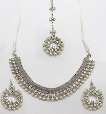silver jewellery necklace sets images Jewelry sets online in pakistan necklace rings artificial jpg