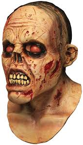 halloween skin mask zombie lurker mask mad about horror