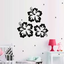Home Decoration Accessories Wall Art Online Get Cheap Hibiscus Wall Art Aliexpress Com Alibaba Group