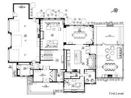 small craftsman bungalow floor plan and elevationexample for 2