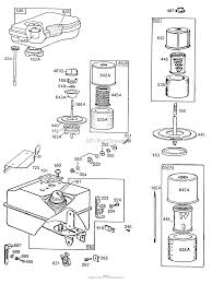 briggs and stratton 112292 0702 01 parts diagram for air cleaner