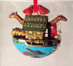 dillard u0027s collectible cloisonne christmas ornament 2010 noah u0027s ark