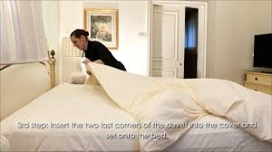 bed making four seasons hotel george v paris professional bed making and