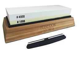 best whetstone for kitchen knives poseidon stones best whetstone sharpening professional