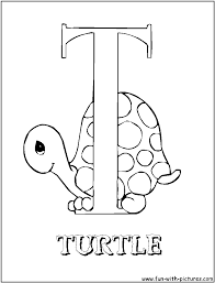 practice writing the letter t coloring page preschool letter t