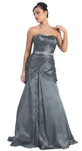 amazon com us fairytailes strapless taffeta prom dress long gown