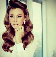 old fashioned hairstyles for long hair basic hairstyles for vintage pin up hairstyles for long hair