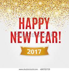 happy new year backdrop happy new year gold glitter new stock vector 486781729