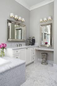 Polished Nickel Bathroom Mirrors by San Francisco Polished Nickel Mirror Bathroom Transitional With