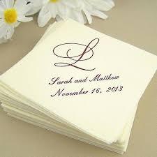wedding cake napkins wedding napkins personalized aesh me