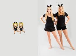 halloween shirts for women 10 diy emoji costumes to rock this halloween brit co