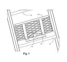 patent us7578371 universal hinged treads for folding attic