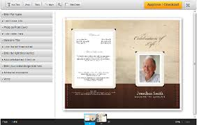 Custom Funeral Programs Puyallup U0027s Print Shop