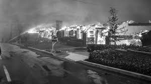Zsa Zsa Gabor Estate From The Archives The 1961 Bel Air Fire La Times