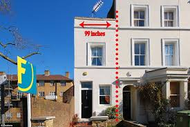 Narrowest House In The World London U0027s Skinniest Home At Just 99 Inches Wide On Sale In Denmark