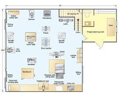 Sliding Door Floor Plan The Floor Plan Mike U0027s Shop Is Built Into The Side Of A Hill Which