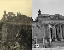 second berlin pictured berlin before and after images ve day history